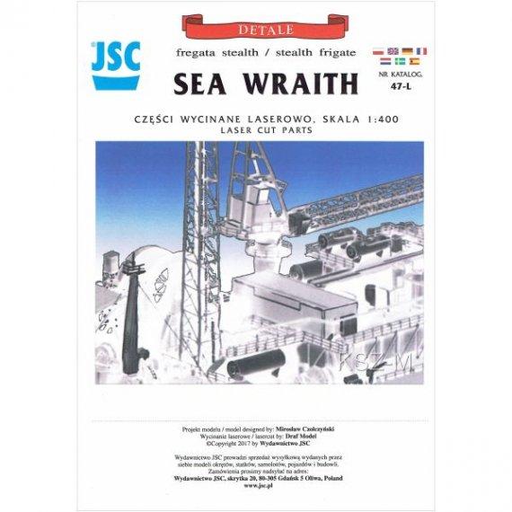 Laser do JSC-047 Fregata stealth Sea Wraith
