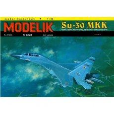 Modelik 30/08 - Samolot Su-30 MKK