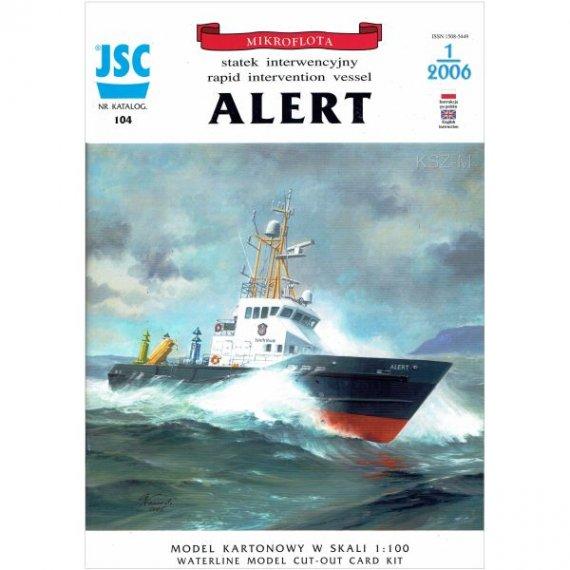 JSC-104 ALERT brytyjski statek interwencyjny