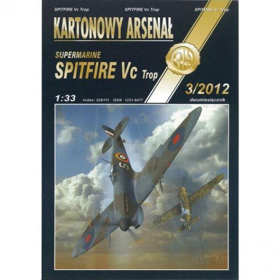 Haliński 3/12 Samolot Spitfire Vc Trop