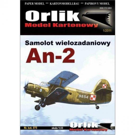 Orlik 075 - Samolot wielozadaniowy An-2
