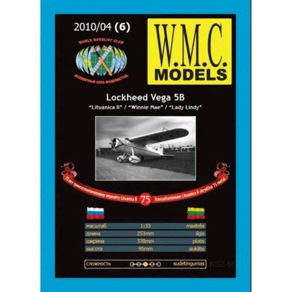 WMC Models 6 - Samolot Lockhed Vega 5B