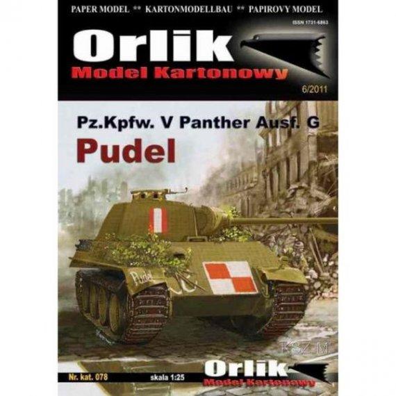 Orlik 078 - Pz.Kpfw. V Panther ausf.G PUDEL