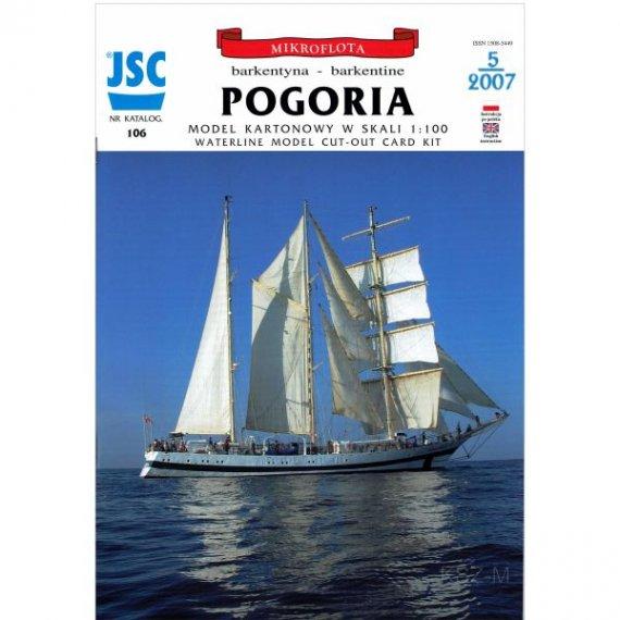 JSC-106 - Polska barkentyna POGORIA
