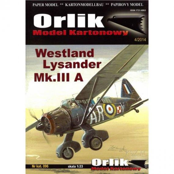 Orlik 096 Westland Lysander Mk.IIIA