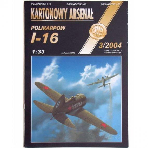 Haliński 3/04 - Samolot Polikarpow I-16
