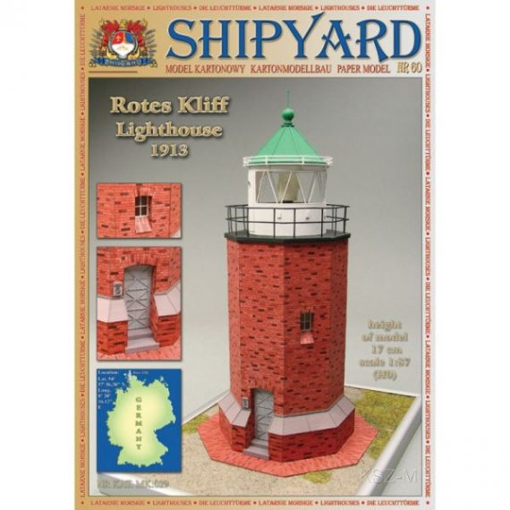SHIPYARD 60 - Latarnia morska Rotes Kliff