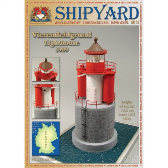 SHIPYARD 62 - Latarnia morska Vierendehlgrund