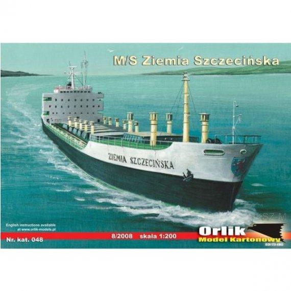 Orlik 048 - Statek m/s ZIEMIA SZCZECIŃSKA