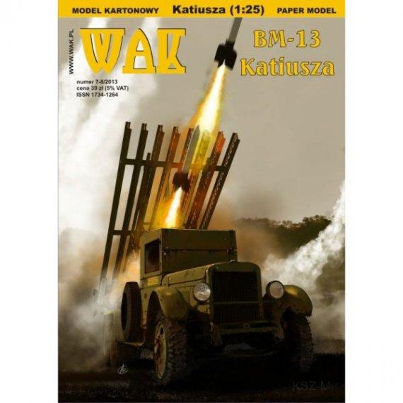 WAK 7-8/13 - Wyrzutnia rakiet BM-13 Katiusza