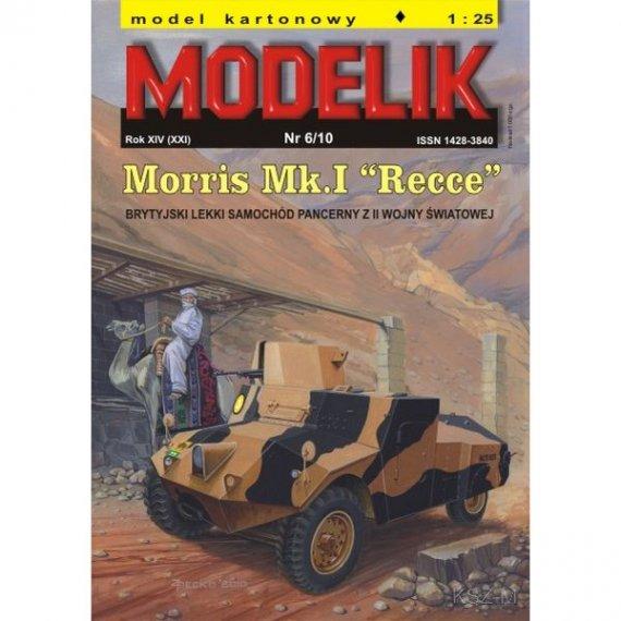 Modelik 6/10 - Samochód Morris Mk.I Recce
