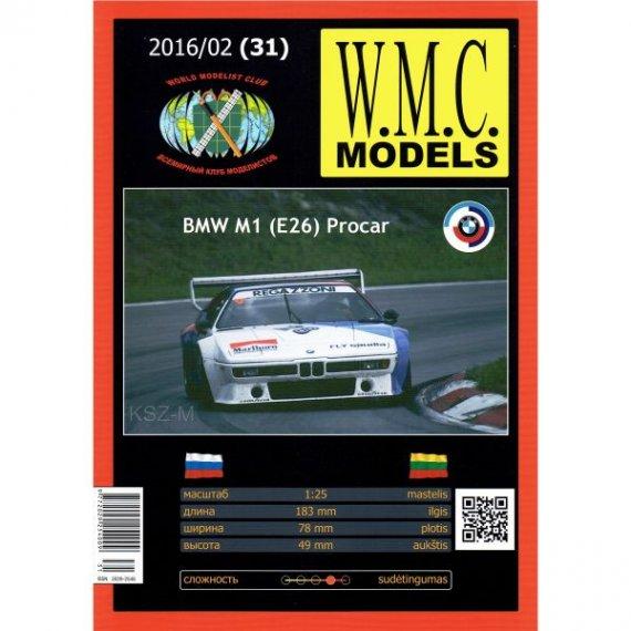 WMC Models 31 - BMW M1 (E26) Procar