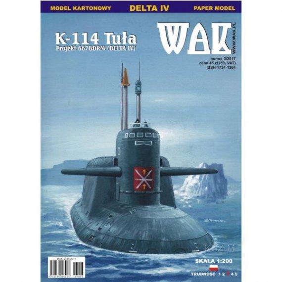 WAK 3/17 Okręt podwodny K-114 Tuła (Delta IV)