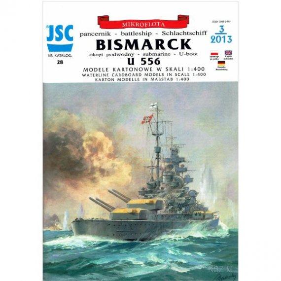JSC-028 - Niemiecki pancernik BISMARCK