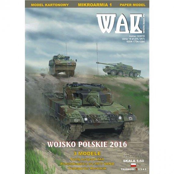 WAK 6/16 Mikroarmia 01 - Wojsko Polskie 2016