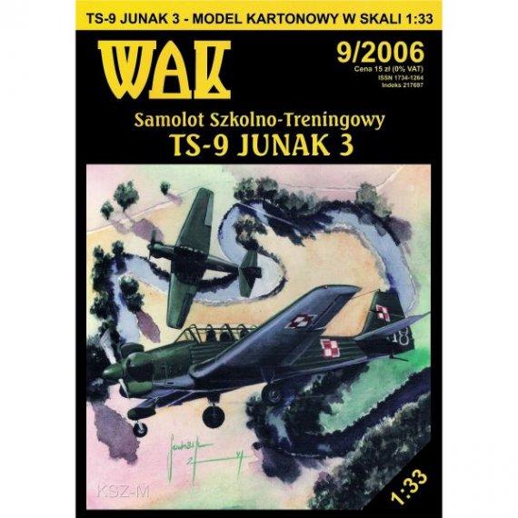 WAK 9/06 - Samolot TS-9 Junak-3