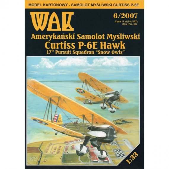 WAK 6/07 - Curtiss P-6E Hawk