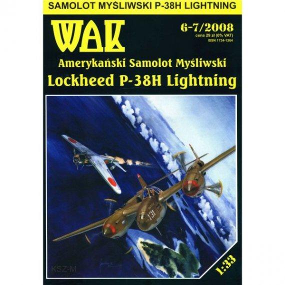 WAK 6-7/08 Mysliweic P-38H Lightning
