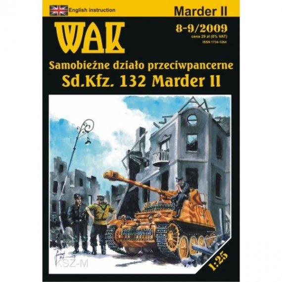 WAK 8-9/09 - Działo samobieżne Marder II