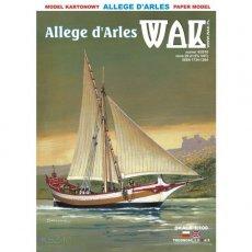 WAK 4/16 - Żaglowiec Allege d'Arles