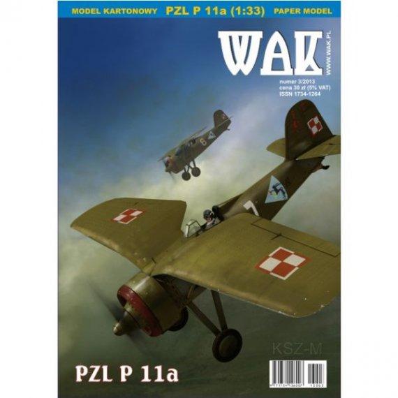 WAK 3/13 - Samolot PZL P 11a