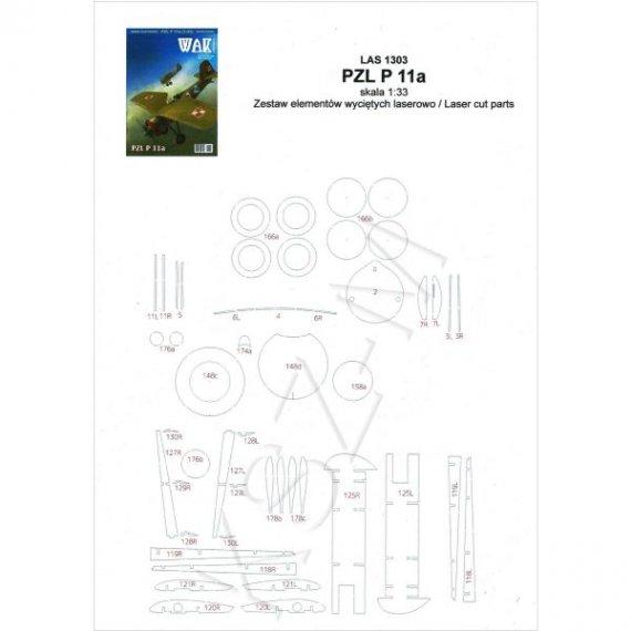 Laser do WAK 3/13 Samolot PZL P 11a