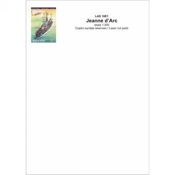 Laser do WAK 1/16 Krążownik Jeanne d'Arc