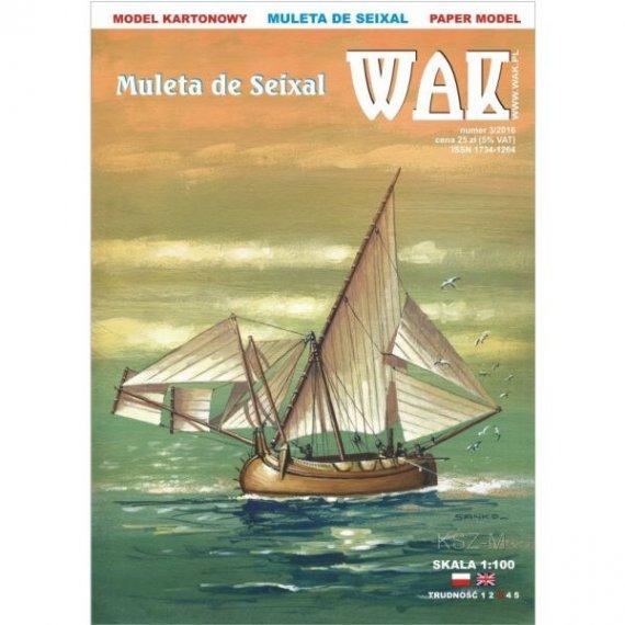 WAK 3/16 - Żaglowiec Muleta de Seixal