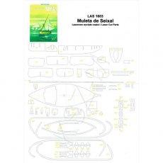 Laser do WAK 3/16 - Muleta de Seixal