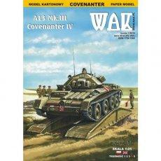 WAK 1/16 - Czołg A13 Mk. III Covenanter IV