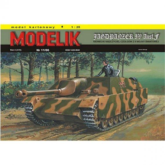 Modelik 11/06 JAGDPANZER IV Ausf.F