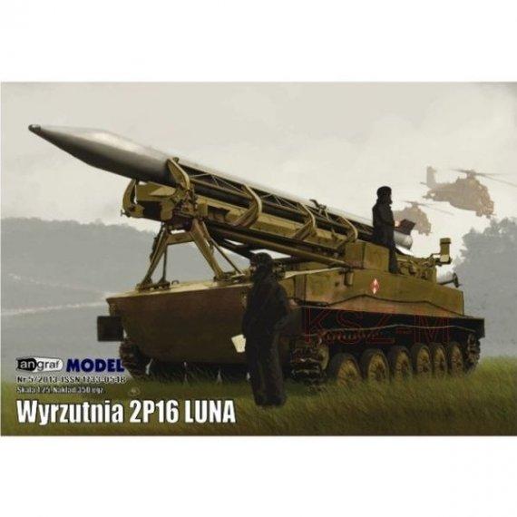 Angraf 9/14 Wyrzutnia rakiet 2P16 Luna