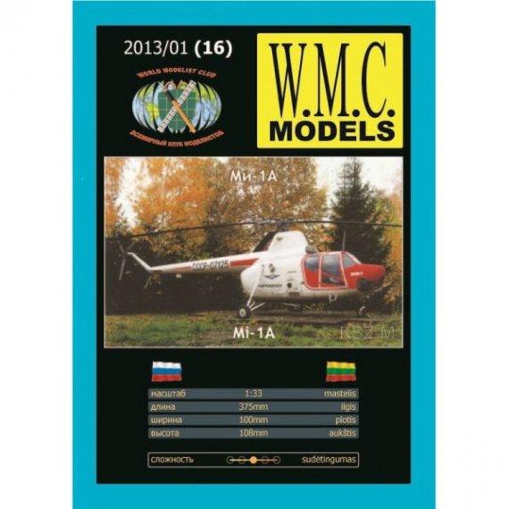 WMC Models 16 - Radziecki śmigłowiec Mi-1A