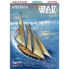 WAK 12/15 - Szkuner AMERICA