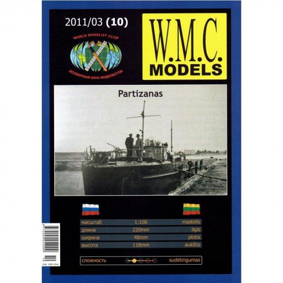 WMC Models - 10 Litewski kuter Partizanas