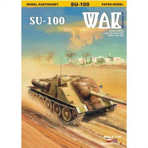 WAK 10/16 - Działo samobieżne SU-100