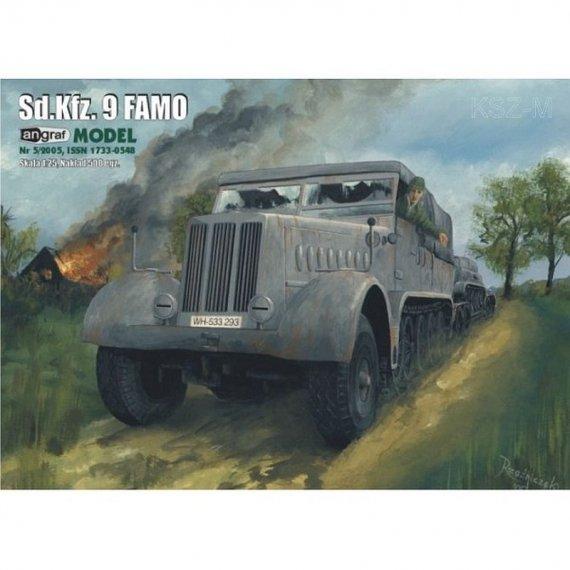 Angraf 5/05 - Niemiecki ciągnik SdKfz 9 FAMO