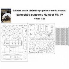 Laser do Answer 2/18 Samochód pancerny Humber Mk. IV