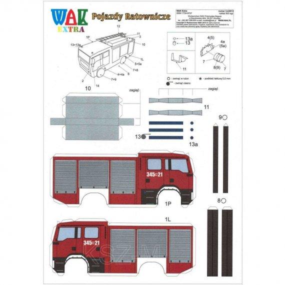 WAK 3-4/13 - Pojazdy ratownicze