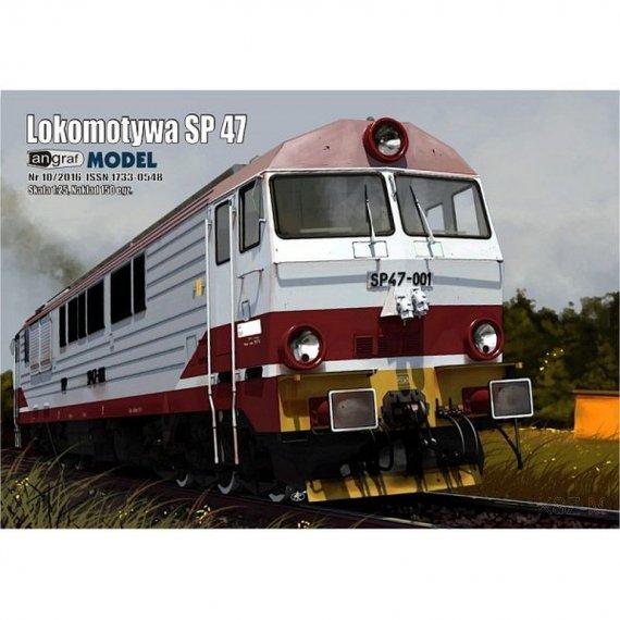 Angraf 10/16 - Lokomotywa SP 47