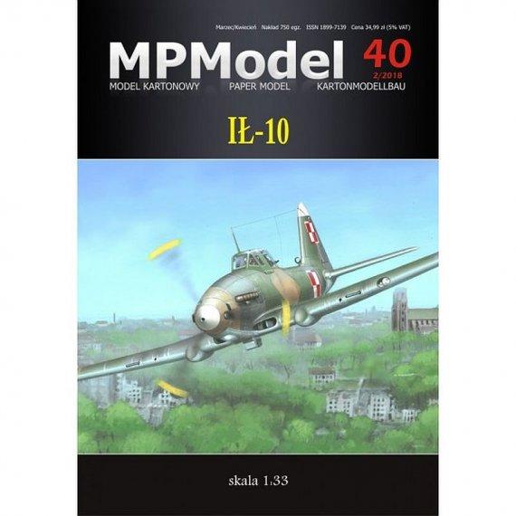 MPModel 40 - Samolot szturmowy Ił-10