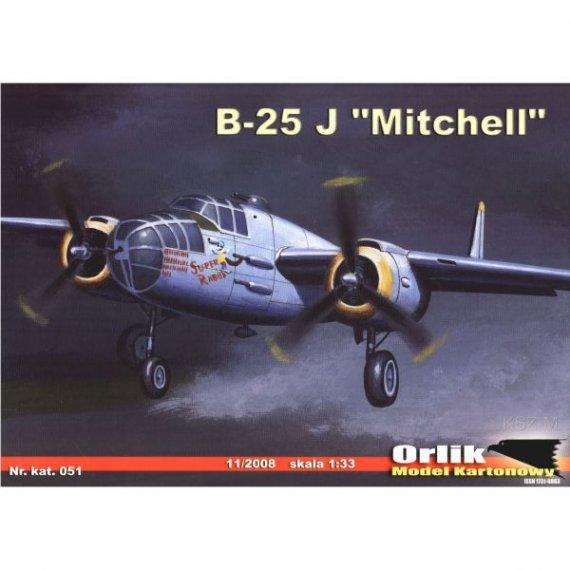 Orlik 051 - Bombowiec B-25 J Mitchell