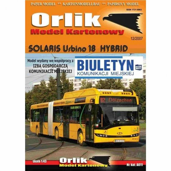 Orlik A011 - Solaris Urbino 18 Hybrid