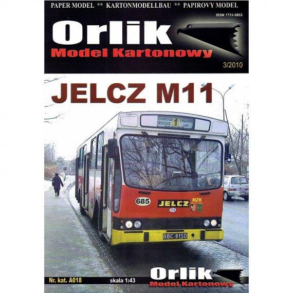 Orlik A018 - Autobus Jelcz M11