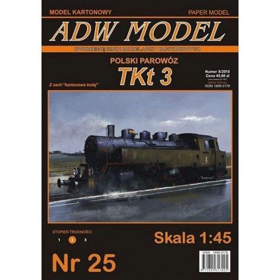 ADW Model 25 - Parowóz TKt 3