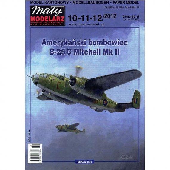 Mały Modelarz 10-12/12 - B-25 C Mitchell