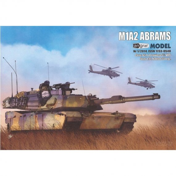 Angraf 1/14 Czołg M1A2 ABRAMS