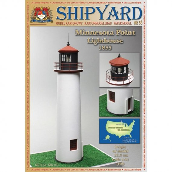 SHIPYARD 58 - Latarnia morska Minnesota Point