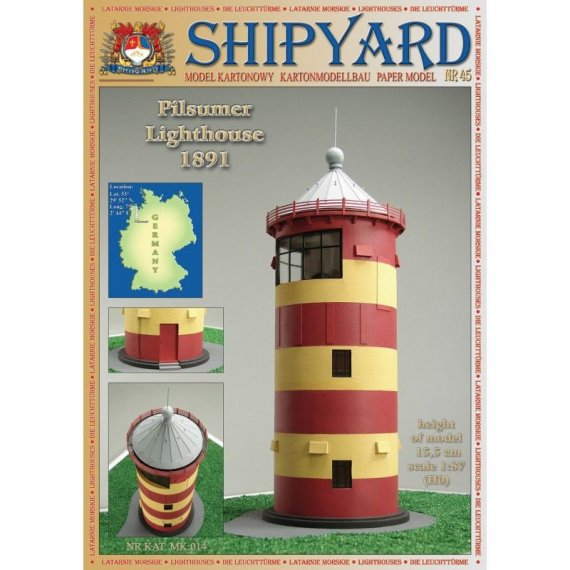 SHIPYARD 45 - Latarnia morska Pilsumer Lighthouse