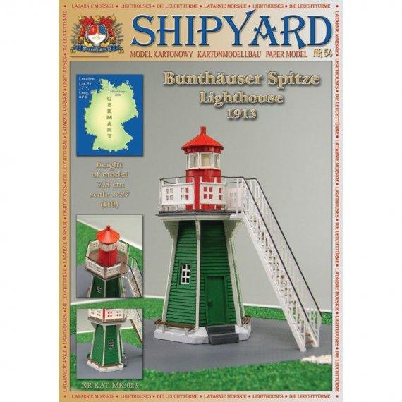 SHIPYARD 54 - Latarnia morska Bunthauser Spitz